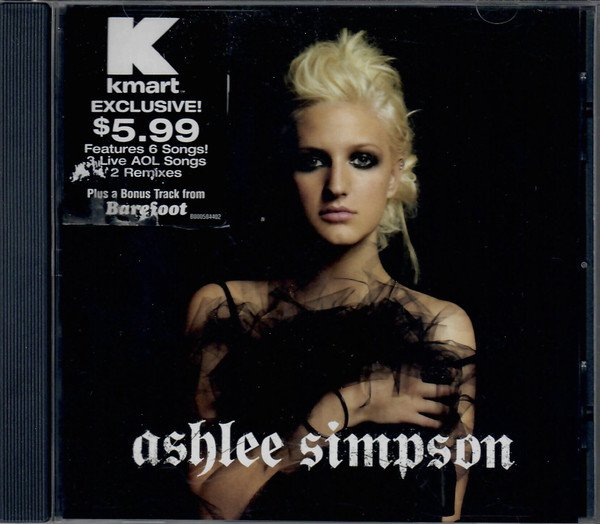 Ashlee Simpson - (Self Titled K-Mart Exclusive Album (2005) (CD Case Front).jpg